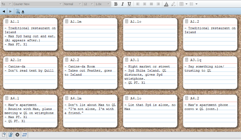 Scrivener writing software recommendation